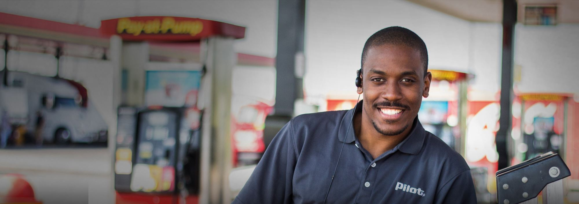 Pilot Flying J team member committed to serving drivers