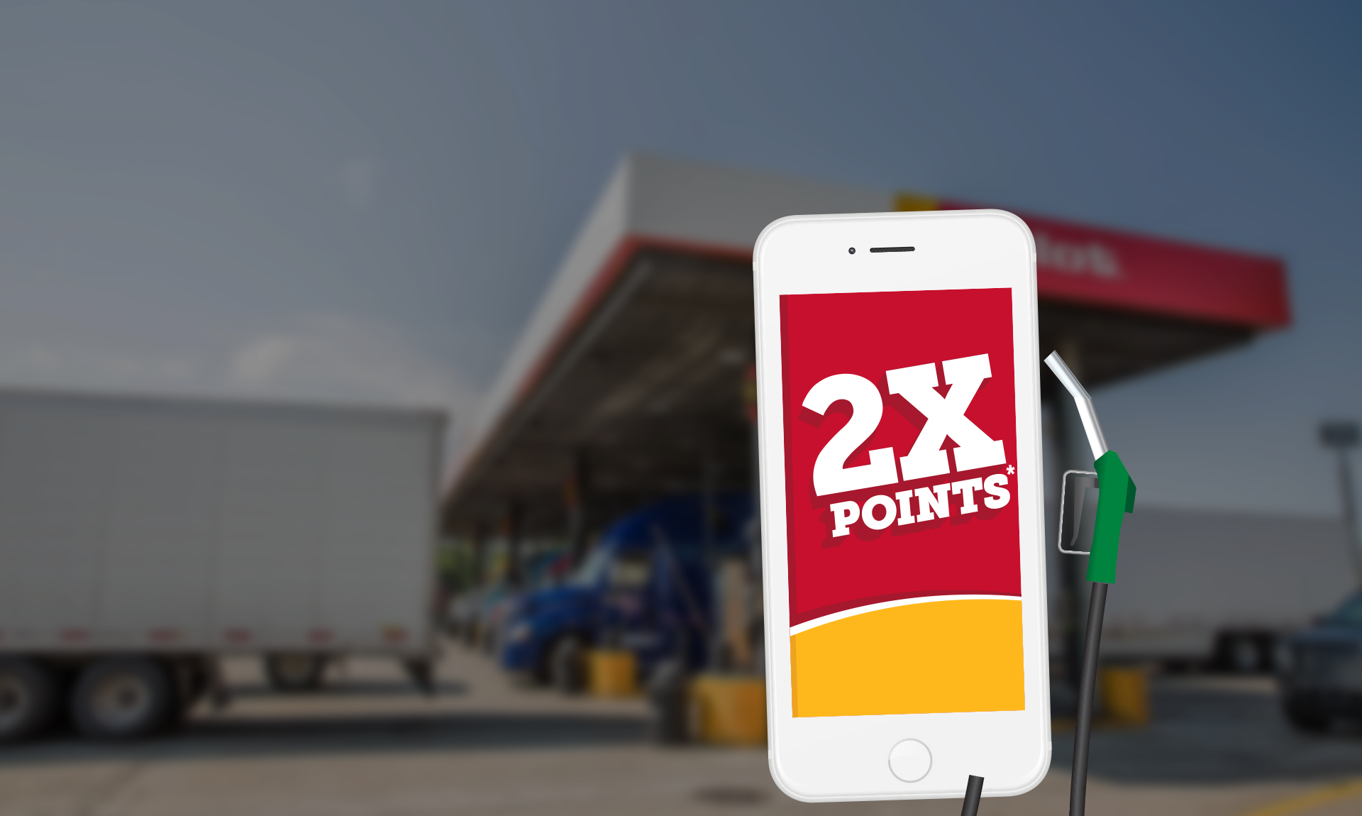 myPilot app Mobile Fueling 2x points