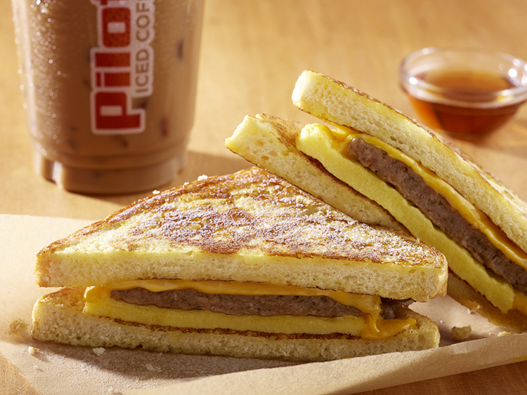 Toasted Breakfast Sandwich...